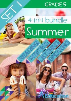 4-IN-1 BUNDLE- Summer (Set 1) – Grade 5