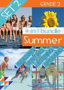4-IN-1 BUNDLE- Summer (Set 2) – Grade 2