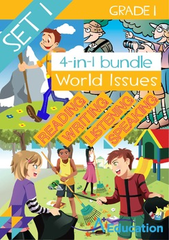 4-IN-1 BUNDLE - World Issues (Set 1) - Grade 1