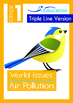 4-IN-1 BUNDLE- World Issues (Set 1) - Grade 1 ( 'Triple-Track Writing Lines')