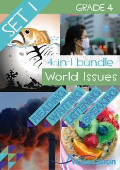 4-IN-1 BUNDLE - World Issues (Set 1) - Grade 4