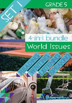 4-IN-1 BUNDLE - World Issues (Set 1) - Grade 5