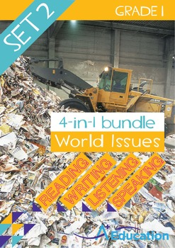4-IN-1 BUNDLE - World Issues (Set 2) - Grade 1
