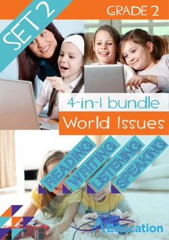 4-IN-1 BUNDLE - World Issues (Set 2) - Grade 2
