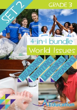 4-IN-1 BUNDLE - World Issues (Set 2) - Grade 3