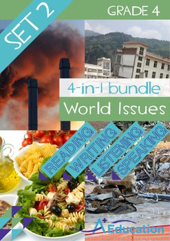4-IN-1 BUNDLE - World Issues (Set 2) - Grade 4