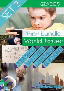 4-IN-1 BUNDLE - World Issues (Set 2) - Grade 5
