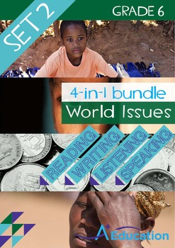4-IN-1 BUNDLE - World Issues (Set 2) - Grade 6