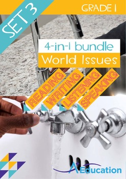 4-IN-1 BUNDLE - World Issues (Set 3) - Grade 1
