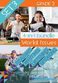 4-IN-1 BUNDLE - World Issues (Set 3) - Grade 2
