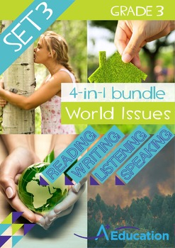 4-IN-1 BUNDLE - World Issues (Set 3) - Grade 3