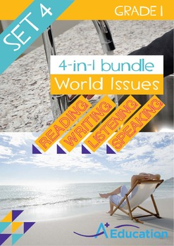 4-IN-1 BUNDLE - World Issues (Set 4) - Grade 1