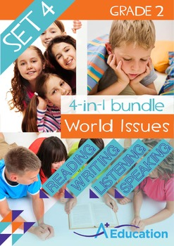 4-IN-1 BUNDLE - World Issues (Set 4) - Grade 2