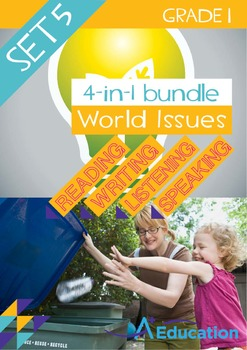 4-IN-1 BUNDLE - World Issues (Set 5) - Grade 1