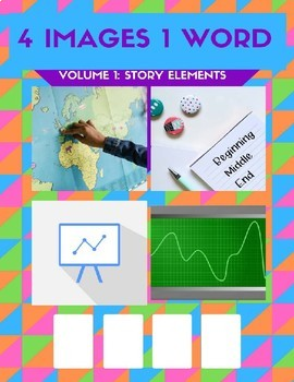 4 Images 1 Word Game: Story Elements