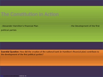 4. The Constitution in Action - Unit Presentation