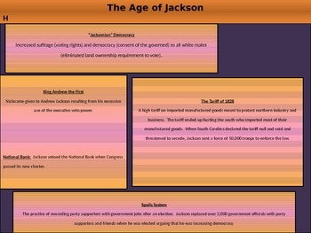 4. The Constitution in Action - Lesson 6 of 7: Jackson