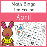 4 In a Row Bingo: April 10 frames to 20