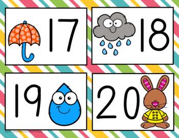 10 frame Bingo: April