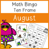 4 In a Row Bingo: August 10 frames to 20