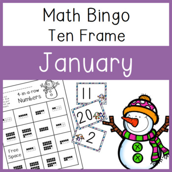 10 frame Bingo: January