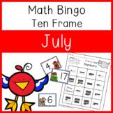 4 In a Row Bingo: July 10 frames to 20