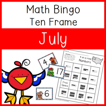 4 In a Row Bingo: July 10 frames to 20
