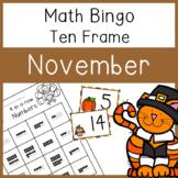 4 In a Row Bingo: November 10 frames to 20