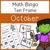4 In a Row Bingo: October 10 frames to 20