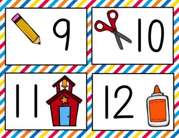 10 frame Bingo: September