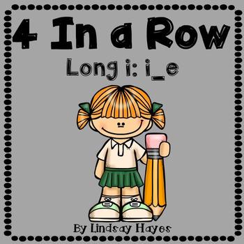 4 In a Row: Long i: i_e