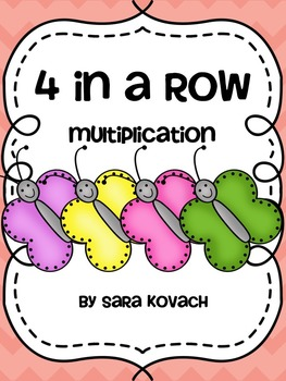 4 In a Row Multiplication