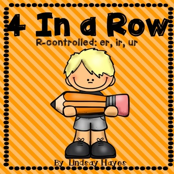 4 In a Row: R-controlled Vowels er, ir, ur