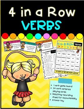4 In a Row- Verbs