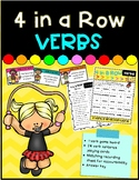 4 In a Row- Verbs