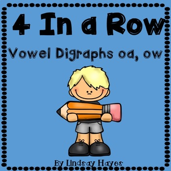 4 In a Row: Vowel Digraphs oa, ow