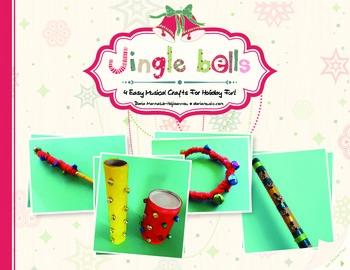 JINGLE BELLS CRAFTS- 4 CLASSROOM  ACTIVITIES