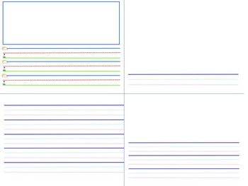 4 Kinds of Handwriting Paper for Activboard - GREAT STUFF!
