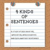 4 Kinds of Sentences