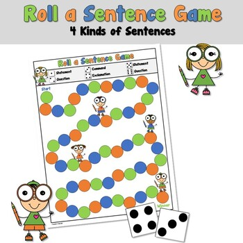 Holiday 4 Kinds of Sentences Game