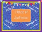 4 Kinds of Sentences Poster