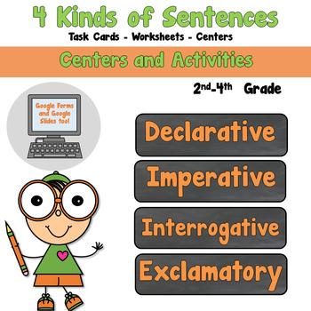4 Kinds of Sentences-declarative-interrogative-exclamatory-imperative