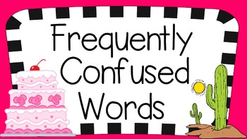 PowerPoint: Frequently Confused Words: Set 2