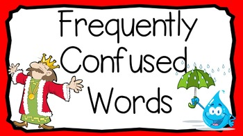 PowerPoint: Frequently Confused Words: Set 3