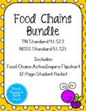 TN 4.LS2.2 Food Chains Bundle