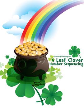 4 Leaf Clover Number Sequencing