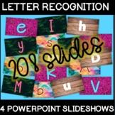4 Letter Recognition PowerPoints