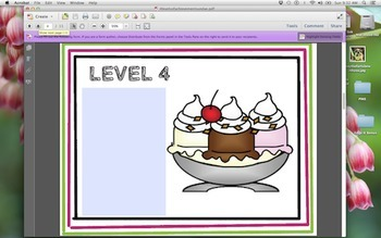 4 Levels of Achievement Sundae