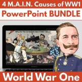 4 M.A.I.N. Causes of WW1 - PowerPoint BUNDLE