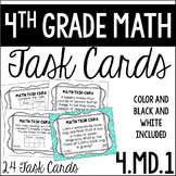 4.MD.1 4th Grade Math Task Cards (Measurement Conversion)